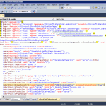 Screenshot of AdditionalPageHead delegate control in v4.master